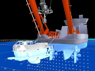 NATO Submarine Rescue System (NSRS) Simulation Capability
