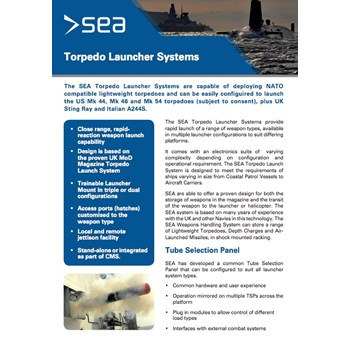 Launcher Systems - Technical Specifications cover photo